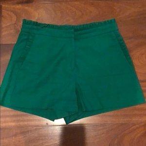 J crew linen shorts
